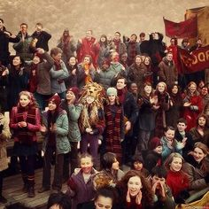 a normaly week-end for Hogwarts Students: A Quidditch match