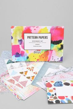 Pattern Paper Stationery Set #urbanoutfitters