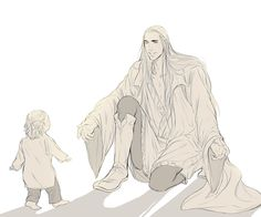 Talesof Mirkwood - First steps, Thranduil and baby Legolas