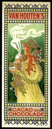 Art+Nouveau+Tradecard