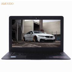 Amoudo-6C Plus 4GB RAM+750GB HDD Intel Core i5-4200U/4210U/4250U Processor Windows 7/10 Ultrathin Laptop Notebook Computer