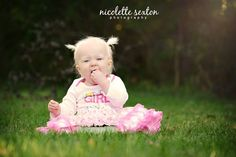 Jazlyn Mae | First Birthday | Cake Smash | October 2013 | Giant Cupcake | Birthday Girl | 1 Year Photography Ideas