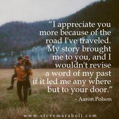 <3 I appreciate you more because...