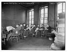Photo Bowery Reading room 10 cent Lodging House c08852a60f09