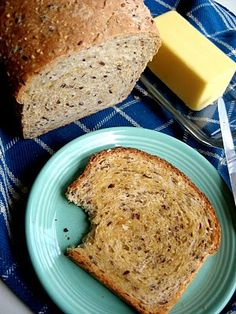 My favorite Multi-Grain Sandwich Bread, from The Bojon Gourmet: millet, steel cut oats and polenta are soaked in boiling water with honey and butter. Flaxseeds, whole wheat and bread flours make a soft dough that bakes into a lofty loaf.