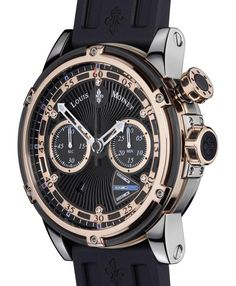 Limited Edition Louis Moinet Jules Verne Instrument III Watch