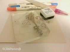Aprende a usar en Scrap los Distress Markers II | Aprender manualidades es facilisimo.com
