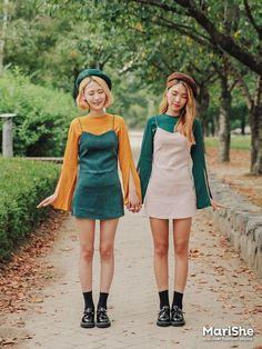 รวม 40 แฟชั่น คู่เพื่อนซี้ สไตล์เกาหลี น่ารักแบบ คู่ซี้ U... รูปที่ 15|SistaCafe