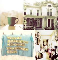 Mornings at 300 Fox Way were fearful, jumbled things. Elbows in sides and lines for the bathroom and people snapping over tea bags placed into cups that already had tea bags in them. There was school for Blue and work for some of the more productive (or less intuitive) aunts. Toast got burned, cereal went soggy, the refrigerator door hung open and expectant for minutes at a time. Keys jingled as car pools were hastily decided.