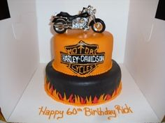 Harley Davidson Motorcycle Cake  By anghollin on CakeCentral.com