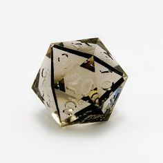 Yeah.  I might want this. -HB   from Amazon GameScience Smoke Quartz d20