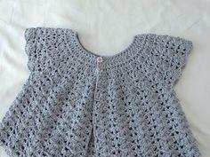 How to crochet a women's shell stitch cardigan / sweater / bolero - YouTube