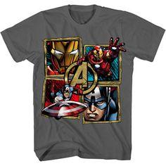 Marvel Avengers Boys' Graphic Tee Walmart - $7