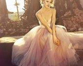 Let's Get Married ~ Vintage Bride Bridal Wedding Bracelet-Bangle, Dreamy Romance....