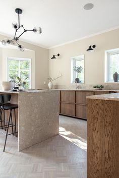 Persuddevägen Kitchen Room Design, Studio Kitchen, Kitchen Interior, New Kitchen, Kitchen Decor, Küchen Design, House Design, Interior Desing, Wooden Kitchen