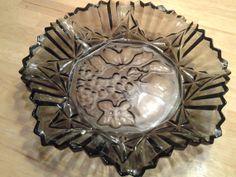 Black Onyx Ribbed Federal Glass Bowl by EastIdahoCompany on Etsy, $18.99