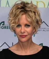Short Styles for Curly Hair Styles courts pour cheveux bouclés Meg Ryan Hairstyles, Short Spiky Hairstyles, Top Hairstyles, Straight Hairstyles, Shaggy Haircuts, Simple Hairstyles, Hairstyle Short, Medium Hairstyles, Celebrity Hairstyles