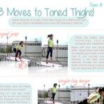 Tone It Up: 3 Moves for Lean, Toned Legs