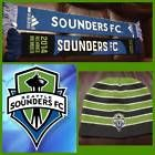 For Sale - 201314 Lot of 2 Full size Seattle Sounders FC MLS Soccer Scarf & Beanie Adidas - See More at http://sprtz.us/SoundersEBay