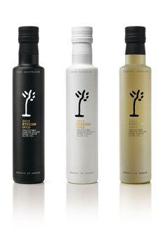 Etesian Gold Premium Olive Oil Package Design
