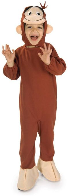 curious george toddler / child costume - toddler