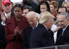 蜜雪兒聽到川普的演講「毀了老公8年來的努力」,一時控制不住「變成殺手臉」!% 照片