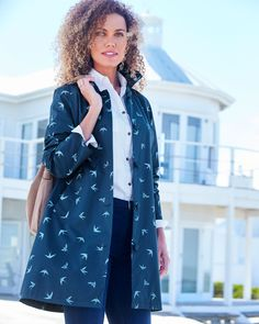 Browse our collection of women's clearance clothing. With styles, sizes, prints and patterns to suit everyone, you're bound to find a bargain. Casual Coats For Women, Jackets For Women, Clothes For Sale, Clothes For Women, Womens Clearance, Denim Shop, Raincoat, Shirt Dress, Mac