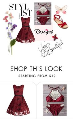 """""""Rosegal 20/60"""" by mala-653 ❤ liked on Polyvore"""