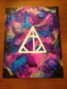 Harry Potter Melted Crayon Art on Etsy!
