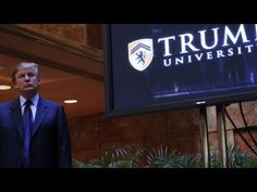 Trump University lawsuits settled for $25M - YouTube