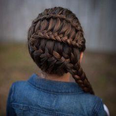 Something about denim and braids is just so amazing. Jacket: @oshkoshkids | Use Instagram online! Websta is the Best Instagram Web Viewer!