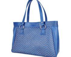 Ručne vyšívaná modrá kabelka z pravej kože - šedé vyšívanie (2) Tote Bag, Bags, Fashion, Handbags, Moda, Fashion Styles, Totes, Fashion Illustrations, Bag