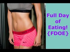Full Day of Eating {FDOE} + Intuitive Dieting - YouTube | #Healthy | #HealthyLifestyle | #FullDayofEating | #EatClean | #FeelLean | #Fitspiration