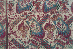 detail from an 18th century Dutch chintz quilt, Museum Hindeloopen