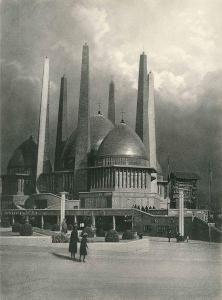 Leonard Misonne - Étude De Ciel (architecture) , Belgique
