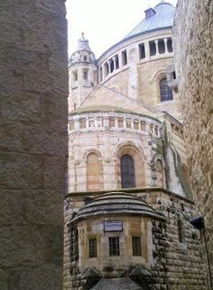 The Dormizion Church in Jerusalem