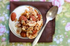 Toasted Almond Granola by joy the baker