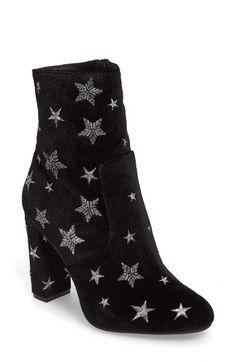 Steve Madden Edit Embroidered Star Bootie (Women)   Nordstrom