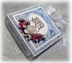 RANDIS LITTLE BLOG: TUTORIAL ON CARD WITH TRAY INSIDE