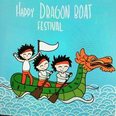 Happy #Dragonboat festival!