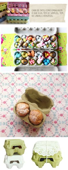 Casa de Colorir: Ideias para a Páscoa Celebration Day, Dessert For Dinner, Easter Brunch, Easter Crafts, Homemade Gifts, Bunny, Packaging, Diy Crafts, Ice Cream
