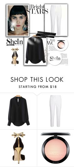 """""""contest"""" by markos-1 ❤ liked on Polyvore featuring Michael Kors, Oscar de la Renta, MAC Cosmetics and Pier 1 Imports"""