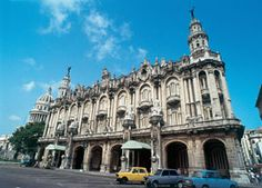 Gran Teatro de La Habana - The Belgian architect Paul Belau began the construction in 1838 and was inaugurated in 1914. Previously its name was Tacón Theater, in honor to the General Captain Miguel Tacón.