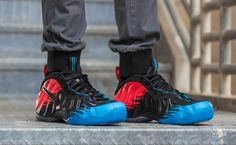 89a15453302 ... spiderman nike foamposite pro on feet youtube 4a1d9 4a080 denmark nikes  next round of flyknit trainer chukka fsbs flyknit pinterest flyknit trainer  nike ...