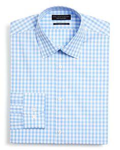 The Men's Store at Bloomingdale's Gingham Dress Shirt - Slim Fit