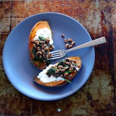 Sweet Potato and Black-eyed Peas One-pot-meal | hip pressure cooking