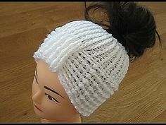 Crochet Messy bun hat Crochet pattern CC for instructions