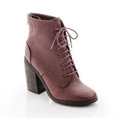 Chunky heel bootie