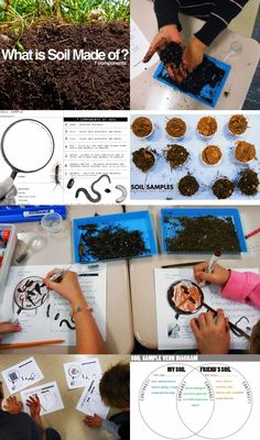 Story Mountain Worksheet Learn About Dirt With Sediment Jars  Learning Earth Science And  Tsunami Worksheets For Middle School with Double Bar Graph Worksheet Excel Backyard Soil Samples E Is For Explore Free Worksheets On Conjunctions