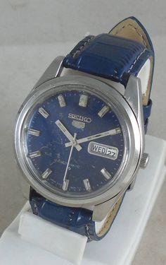 0e56e814fbb Original VINTAGE SEIKO 5 Automatic 17J Japan by Indiaguru on Etsy Joias